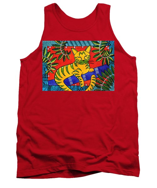Born To Be Striped Tank Top