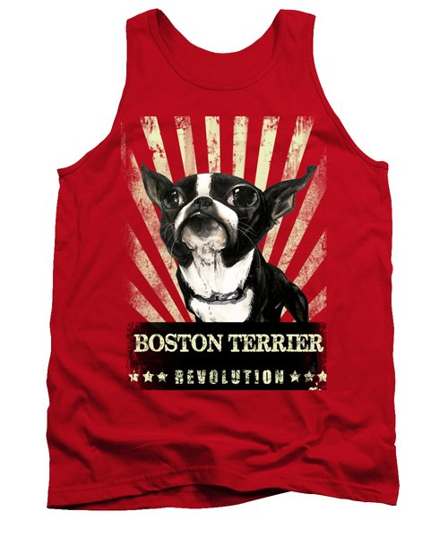 Boston Terrier Revolution Tank Top