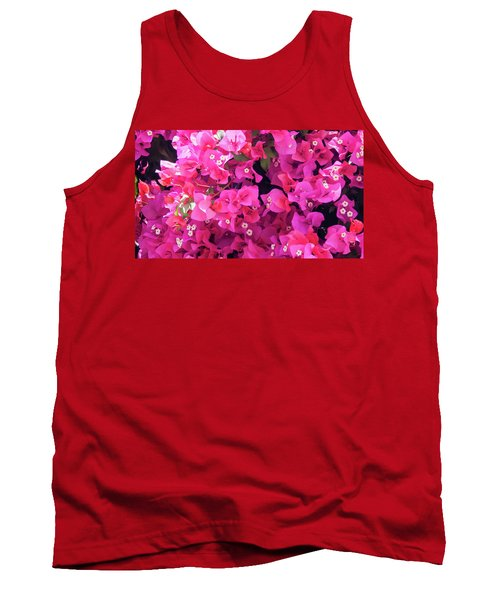 Bougainvillea Tank Top