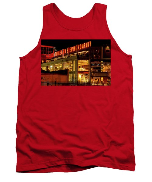 Boulevard Beer Sign Tank Top by Steven Bateson