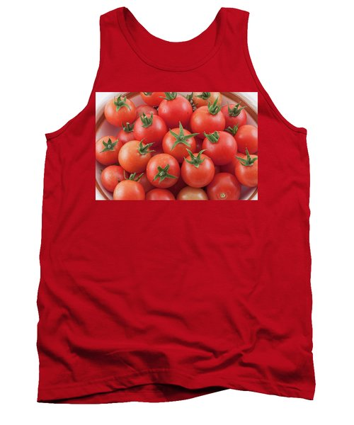 Tank Top featuring the photograph Bowl Of Cherry Tomatoes by James BO Insogna