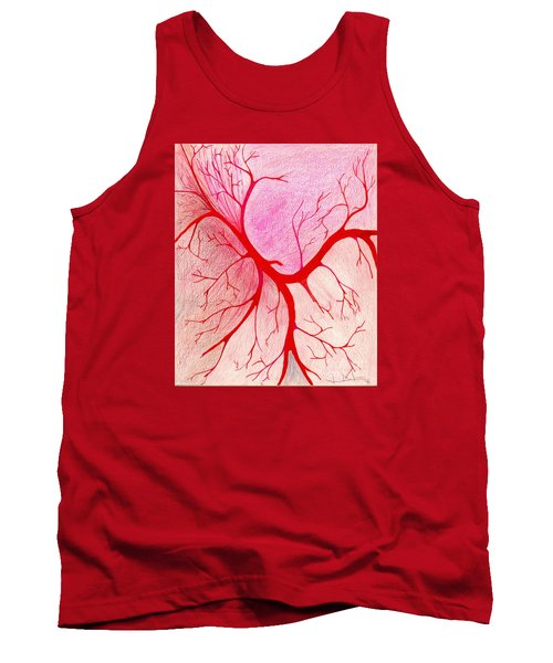 Branches Of Red Tank Top
