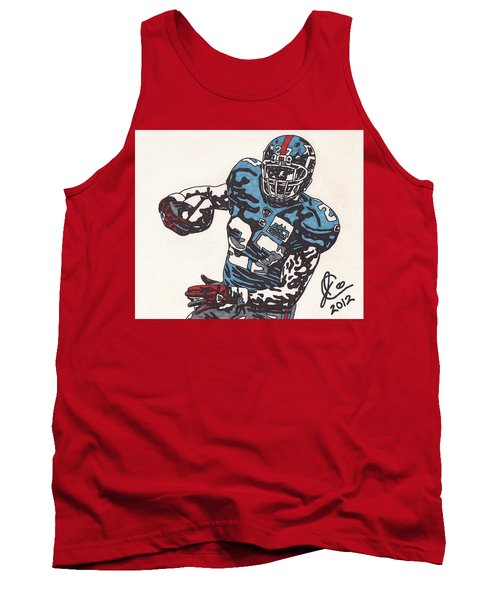 Brandon Jacobs 1 Tank Top by Jeremiah Colley