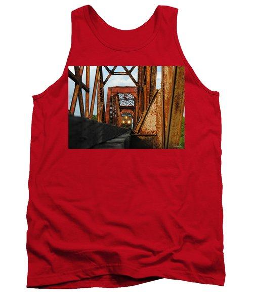 Brazos River Railroad Bridge Tank Top