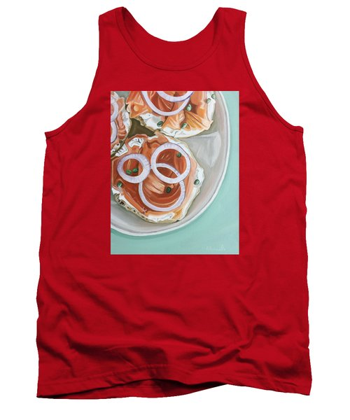 Breakfast Delight Tank Top by Nathan Rhoads