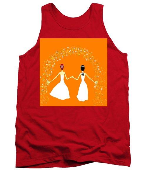 Brides Tank Top by Barbara Moignard