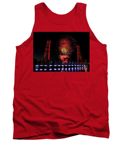 Tank Top featuring the photograph Bridge 13 In Welland by JT Lewis