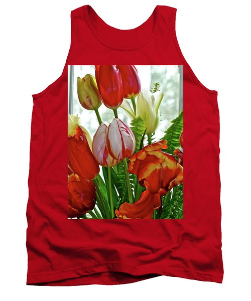 Bright Bouquet Tank Top