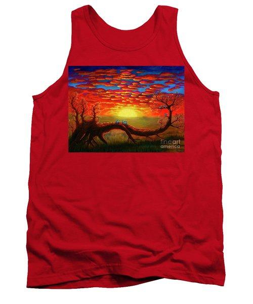 Bright Sunset Tank Top