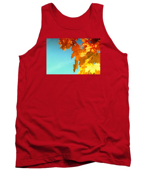 The Lord Of Autumnal Change Tank Top by John Williams