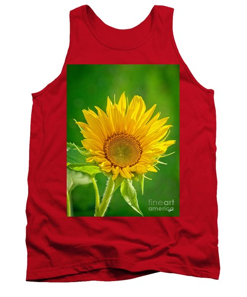 Bright Yellow Sunflower Tank Top by Alana Ranney