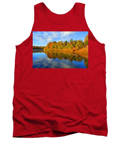 Brilliance Of Autumn Tank Top