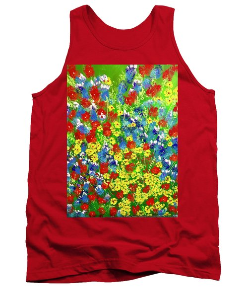 Brilliant Florals Tank Top