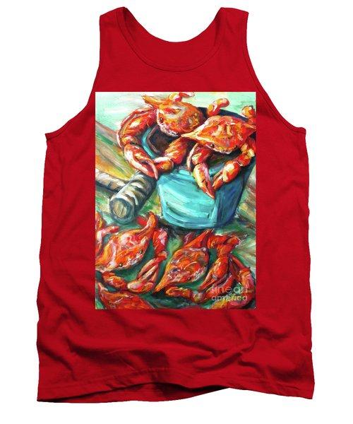 Bucket O Crabs Tank Top