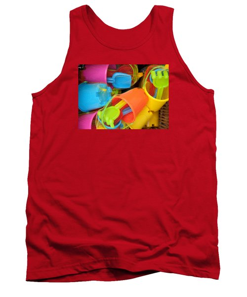 Buckets And Spades Tank Top