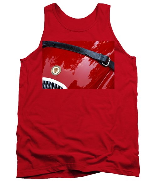 Tank Top featuring the photograph Buckle Up by John Schneider