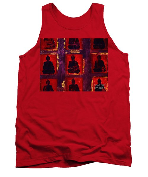 Buddha Surounded Tank Top by Craig Wood