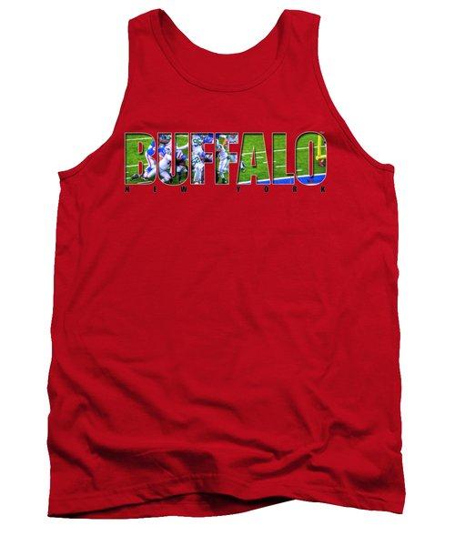 Buffalo Ny Buffalo Bills Tank Top by Michael Frank Jr