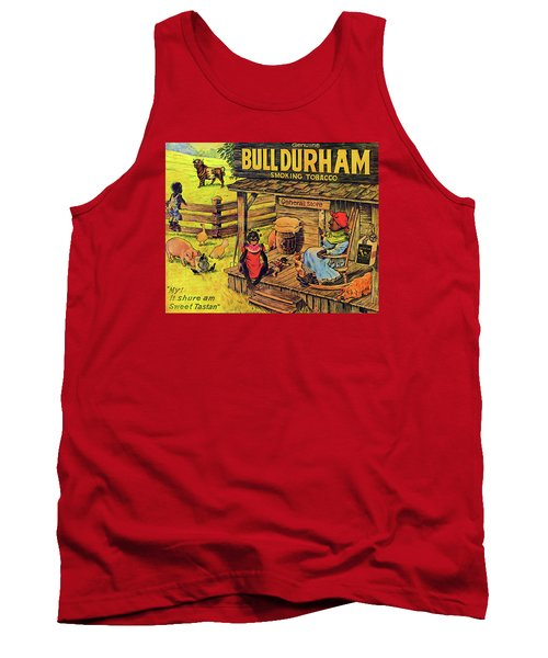 Bull Durham My It Shure Am Sweet Tastan Tank Top