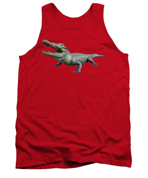 Bull Gator Transparent For T Shirts Tank Top by D Hackett
