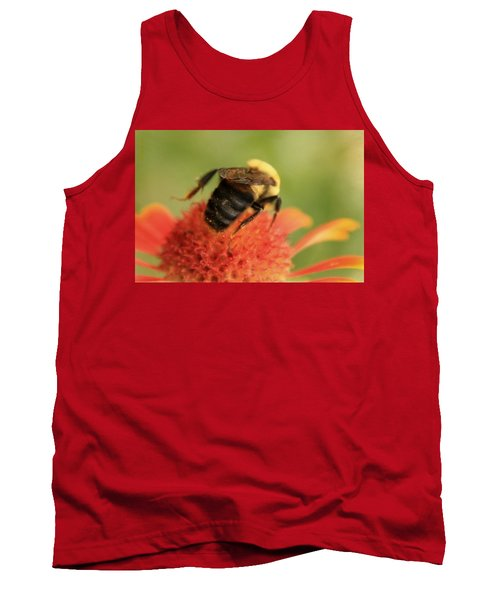 Tank Top featuring the photograph Bumblebee by Chris Berry