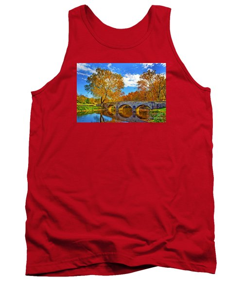 Burnside Bridge At Antietam Tank Top by Paul W Faust -  Impressions of Light