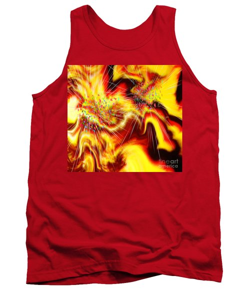 Burst Of Energy Tank Top by Belinda Threeths