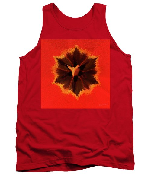 Tank Top featuring the photograph Bursting by Terri Harper