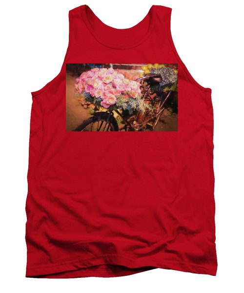 Bursting With Flowers Tank Top