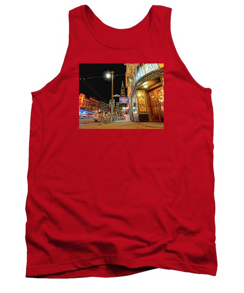 Tank Top featuring the photograph Busy View Northbeach San Francisco by Steve Siri