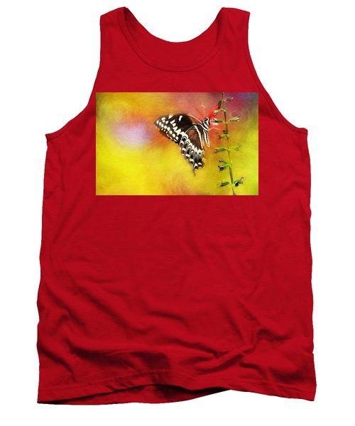 Butterflies Are Self Propelled Flowers Tank Top