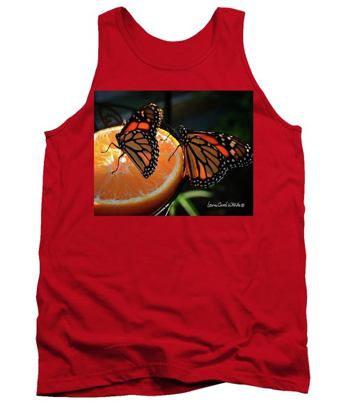 Butterfly Attraction Tank Top by Lena Wilhite