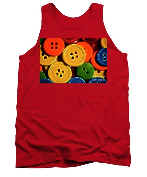 Buttons Tank Top by Linda Blair
