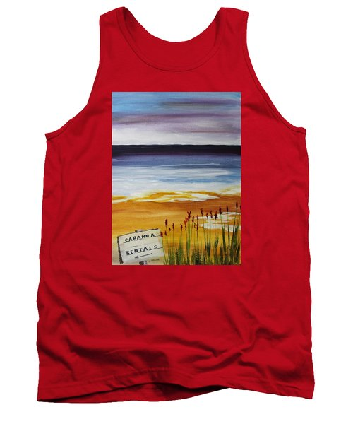 Cabana Rental Tank Top by Jack G  Brauer