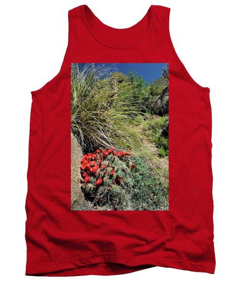 Crimson Barrel Cactus Tank Top