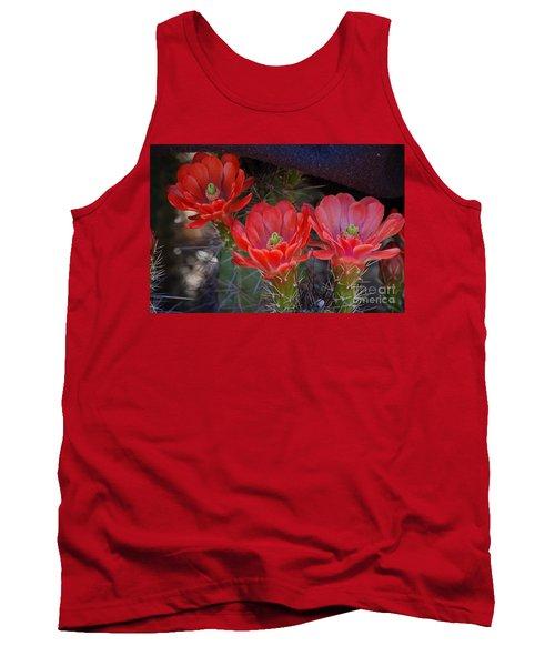 Cactus Flowers Tank Top