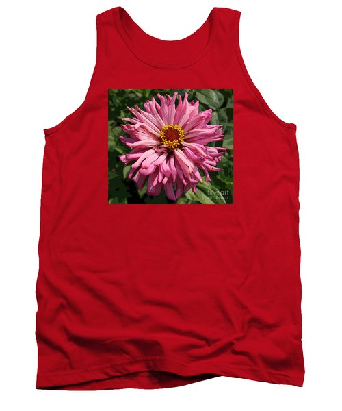 Tank Top featuring the photograph Cactus Petal Zinnia by Jeanette French