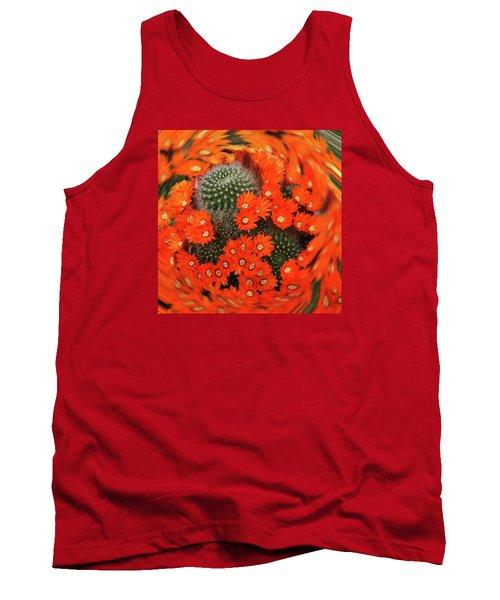 Cactus Swirl Tank Top