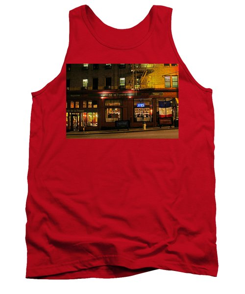Cafe De La Presse On Bush St Tank Top