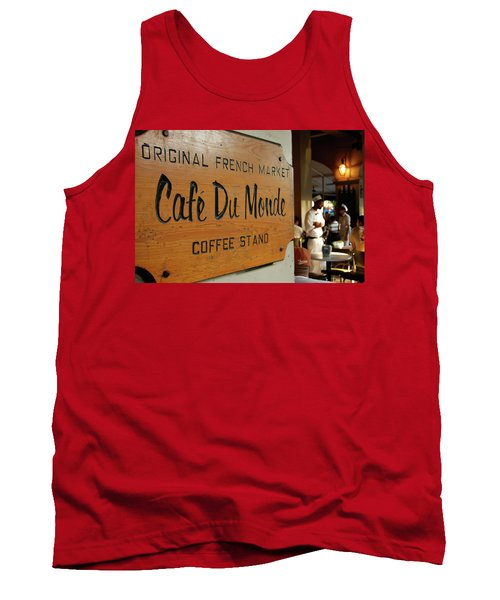 Cafe Du Monde Tank Top