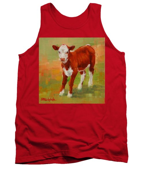 Calf Miniature Tank Top by Margaret Stockdale