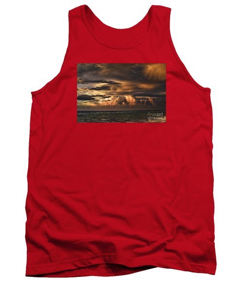 Calm Before The Storm Tank Top by Judy Wolinsky