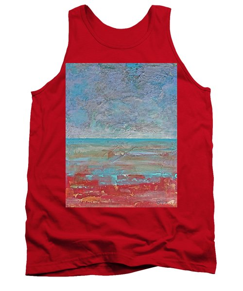 Calm Before The Storm Tank Top by Walter Fahmy