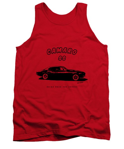 Tank Top featuring the photograph Camaro Ss by Kim Gauge