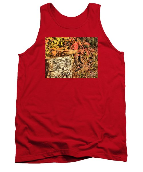 Tank Top featuring the photograph Camo Bird by Debbie Stahre