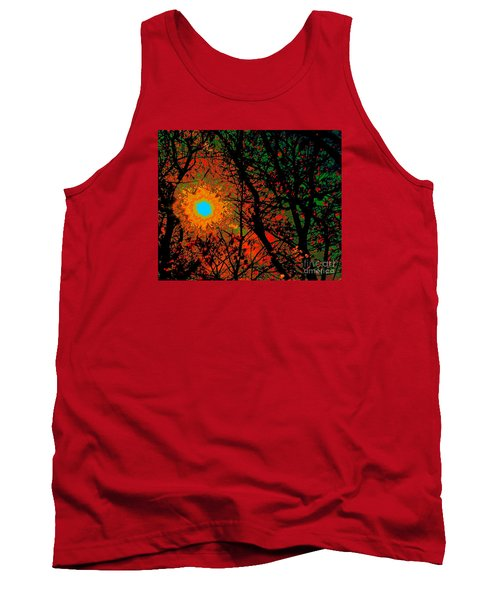 Campfire Sparks Tank Top by Jesse Ciazza