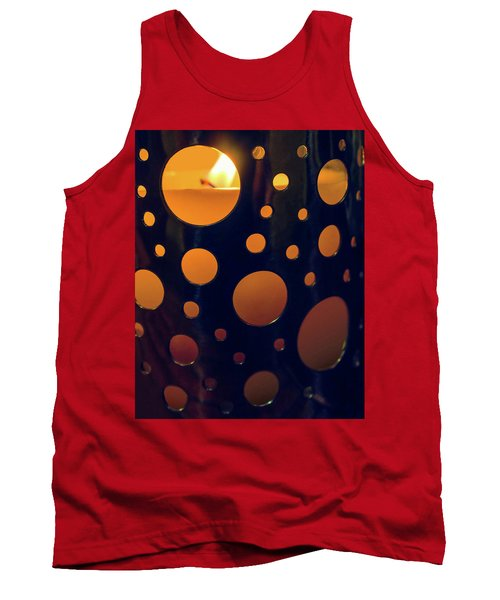 Tank Top featuring the photograph Candle Holder by Carlos Caetano