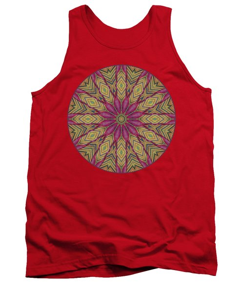 Canna Leaf - Mandala - Transparent Tank Top by Nikolyn McDonald