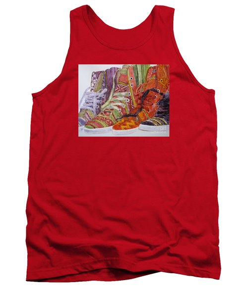 Canvas  Hightops Tank Top