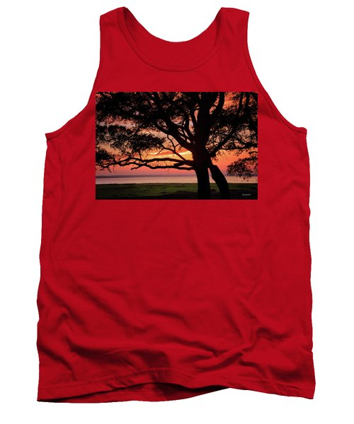 Cape Fear Sunset Overlook Tank Top